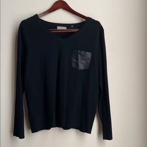 Dressy black sweater